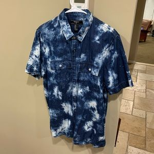 Forever 21 Short Sleeve Button Down